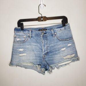 Abercrombie & Fitch Cutoff Denim Shorts Size 27